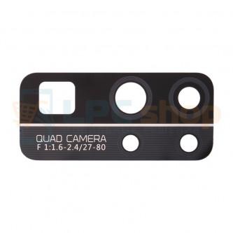 Стекло задней камеры Huawei Honor 30 Черный