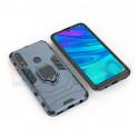 Защитный чехол - накладка для Huawei Honor 9X / P Smart Z / Y9 Prime (2019) Синий (с магнитом для держателя и кольцом)
