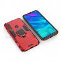 Защитный чехол - накладка для Huawei Honor 9X / P Smart Z / Y9 Prime (2019) Красный (с магнитом для держателя и кольцом)