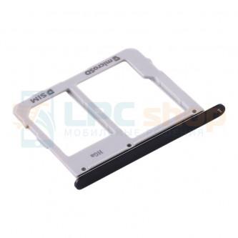 Лоток сим карты и карты памяти Samsung Galaxy Tab S5e T725 Черный