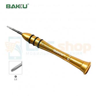 Отвертка BAKU BK-338 PH000 крестик 1.5*25 mm
