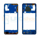 Средняя часть Samsung A21S A217F Синяя + кнопки громкости