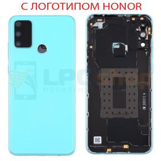 Крышка(задняя) для Huawei Honor 9A Голубой (Ice Green)