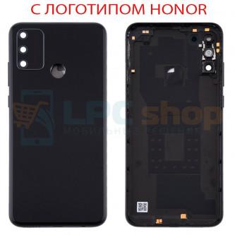 Крышка(задняя) для Huawei Honor 9A Черный (Midnight Black)