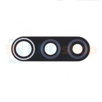 Стекло задней камеры для Xiaomi Redmi 9 Черное