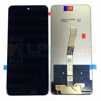 Дисплей для Xiaomi Redmi Note 9S / Note 9 Pro в сборе с тачскрином Черный