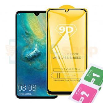 Защитное стекло (Полное покрытие) для Xiaomi Mi 10 Lite Черное
