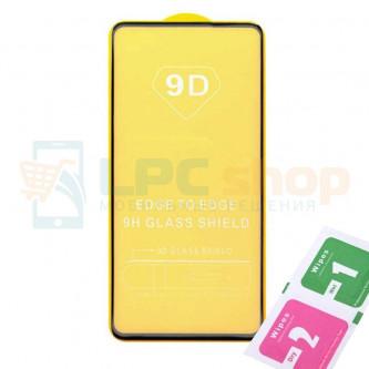 Защитное стекло (Полное покрытие) для Huawei Honor 9C Черное