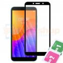 Защитное стекло (Полное покрытие) для Huawei Honor 9S Черное