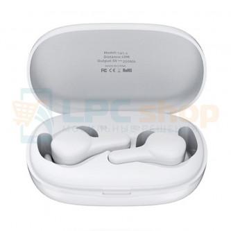 TWS наушники Bluetooth Remax TWS-6 (вакуумные) Белая