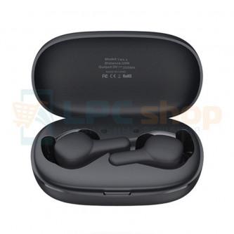 TWS наушники Bluetooth Remax TWS-6 (вакуумные) Черная