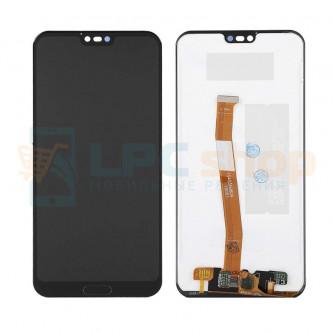 Дисплей для Huawei Honor 10 в сборе с тачскрином Черный - (Отпечаток работает)