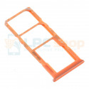 Лоток сим карты и карты памяти Samsung Galaxy A20 / A30 / A50 / A70 Оранжевый