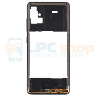 Средняя часть Samsung A51 A515F Черная + кнопки громкости