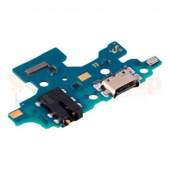 Шлейф разъема зарядки для Samsung A41 A415F (плата) разъем гарнитуры и микрофон