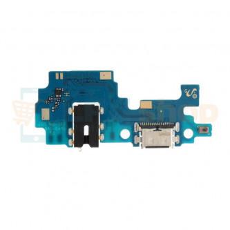 Шлейф разъема зарядки для Samsung A21s A217F (плата) разъем гарнитуры и микрофон