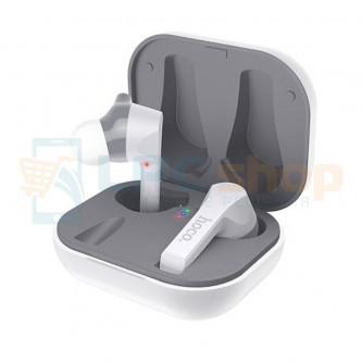 TWS наушники Bluetooth Hoco ES34 ( вакуумные ) Белая