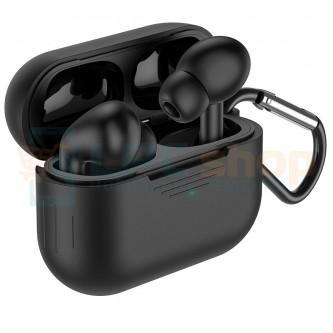 TWS наушники Bluetooth Hoco ES38 ( вакуумные ) Черная