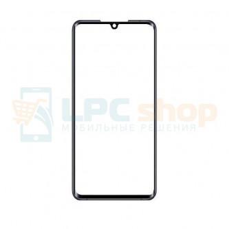 Стекло (для замены / переклейки) Xiaomi Mi Note 10 / Mi Note 10 PRO Черное