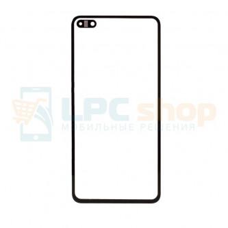 Стекло (для замены/переклейки) Huawei P40 Черное