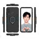 Защитный чехол - накладка для Huawei P30 Lite / Honor 20S / Honor 20 Lite MAR-LX1H Черный (с магнитом для держателя и кольцом)