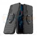 Защитный чехол - накладка для Huawei Honor 20 Pro Черный (с магнитом для держателя и кольцом)