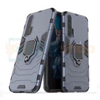 Защитный чехол - накладка для Huawei Honor 20 Pro Синий (Navy Blue) (с магнитом для держателя и кольцом)