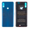 Крышка(задняя) для Huawei Honor 9X Синий + Скотч + Кольцо отпечатка (версия с отпечатком пальца)