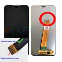 Дисплей для Samsung A01 A015F в сборе с тачскрином Черный (Узкий коннектор)
