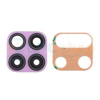 Стекло задней камеры Huawei P40 Lite Розовое (для Light Pink)