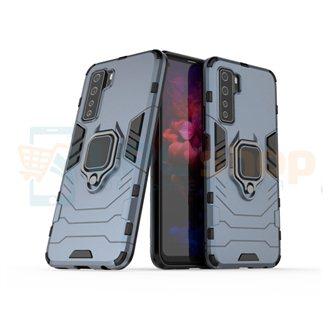 Защитный чехол - накладка для Huawei Honor 30S Синий(Navy Blue) (с магнитом для держателя и кольцом)