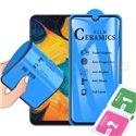 Защитное стекло / пленка Ceramics для Xiaomi Mi 10 Lite Черная Глянцевая