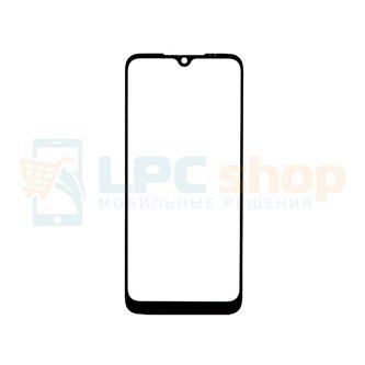Стекло (для замены / переклейки) Xiaomi Redmi Note 8T Черное
