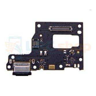 Шлейф разъема зарядки для Xiaomi Mi 9 Lite (плата) и микрофон
