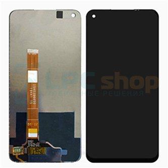 Дисплей Realme 6 / OPPO A52 / OPPO A72 в сборе с тачскрином Черный