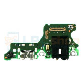 Шлейф разъема зарядки для Huawei P40 Lite E (плата) разъем гарнитуры и микрофон