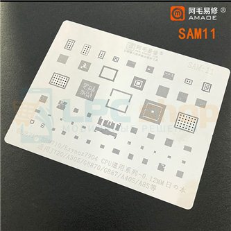 AMAOE BGA трафарет Samsung (SAM:11) J720 / A305 / SDM710 / Exynos7904