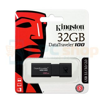 Память USB Flash (Флешка USB 3.0) 32GB Kingston DataTraveler DT100-G3