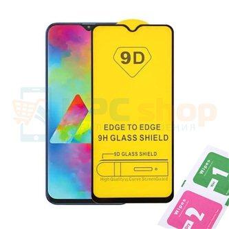 Защитное стекло (Полное покрытие) для Samsung M01 M015F Черное