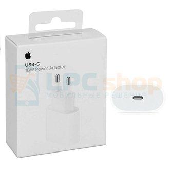 Сетевое зарядное устройство Type-C для iPhone (18W, PD) - Оригинал