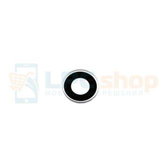 Стекло задней камеры ASUS Zenfone 6 A600CG черная в рамке