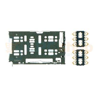 Коннектор SIM-Карты Huawei P30 Lite / Honor 20S (MAR-LX1H) / Honor 20 Lite (MAR-LX1H)