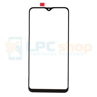 Стекло (для замены / переклейки) Samsung A10s A107F Черное