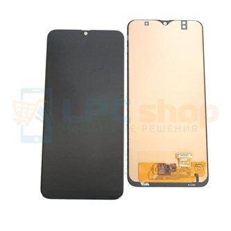 Дисплей Samsung A50 A505F/A50s A507F в сборе с тачскрином Черный - (TFT / In-Cell Без отпечатка)