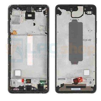 Рамка дисплея Samsung A52 A525F Черная