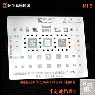 AMAOE BGA трафарет Xiaomi (MI:9)