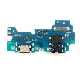 Шлейф для Samsung A32 A325F плата для зарядки + разъем гарнитуры и микрофон