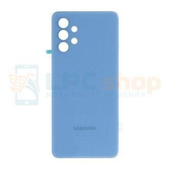 Крышка(задняя) для Samsung A32 A325F Голубой (без линз для камеры)