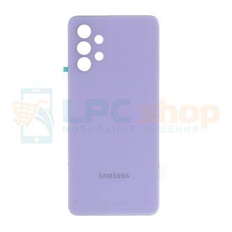Крышка(задняя) для Samsung A32 A325F Фиолетовый (без линз для камеры)