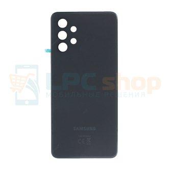 Крышка(задняя) для Samsung A32 A325F Черный (без линз для камеры)